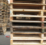 #1 48x40 Used 4-way Pallets